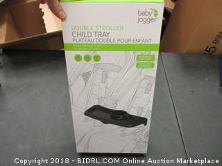 Double Stroller Child Tray