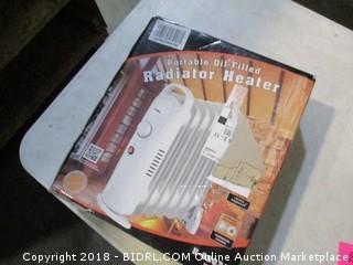 portable oil-filled radiator heater