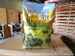 Taste Of The Wild High Prairie Canine Formula w/Roasted Bison and Roasted Venison  (Yellow  Bag)