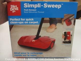 Dirt Devil Cordless Sweeper