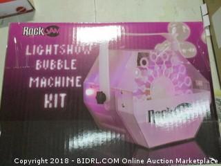 Lightshow Bubble Machine Kit
