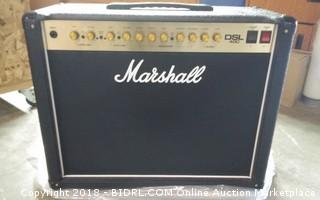 Marshall DSL  Amplification   Powers on