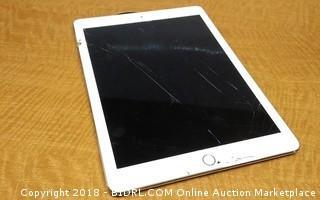 iPad No Power, No Cords, Cracked Screen