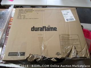 Dura Flame  3D Infrared Electric Stove with Heater