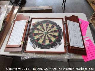 Dartboard Cabinet with Board