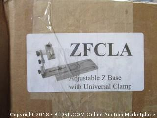 Adjustable Z Base with Universal Clamp