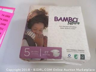Bambo Nature Diapers