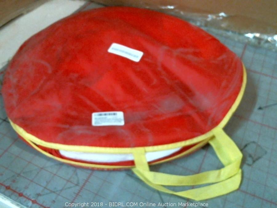 Pop up Kids Play tent with tunnel & BIDRL.COM Online Auction Marketplace - Auction: Worlds Largest ...