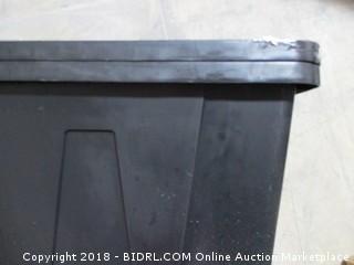 HDX Tough Tote / missing lid -damaged