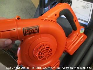 Black + Decker Hard Surface Sweeper