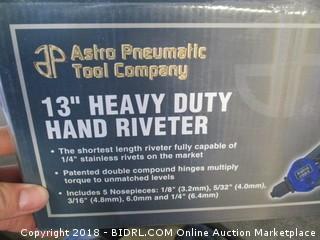 Hand Riveter