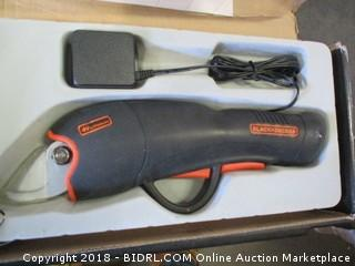 Black + Decker Cordless Pruner