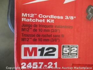 Cordless Ratchet Set