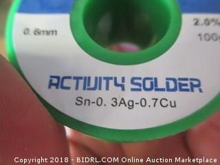 Activity Solder