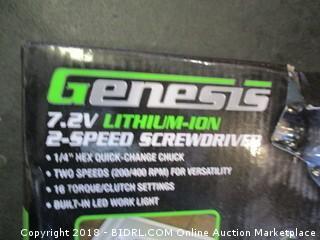 Genesis Screwdriver