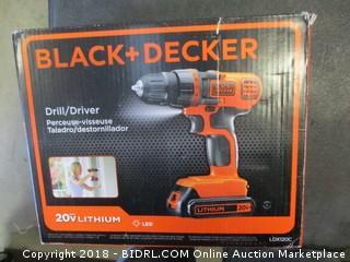 Black + Decker Drill/Driver