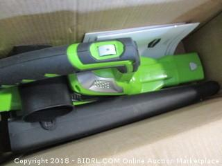 Green Works Cordless Blower