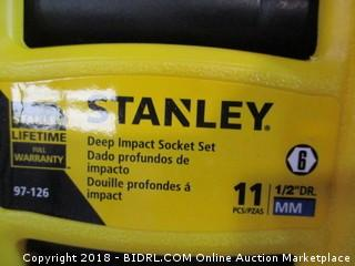 Stanley Deep Impact Socket Set