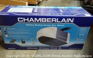 Chamberlain Battery Backup Garage Door Opener