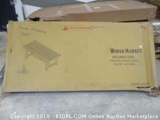 World Market Priano Dining Table