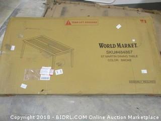 World Market St Martin Dining Table