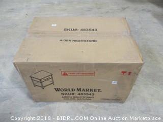 World Market  Aiden Nightstand