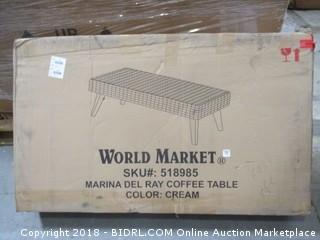 World Market Marina Del Ray Coffee Table