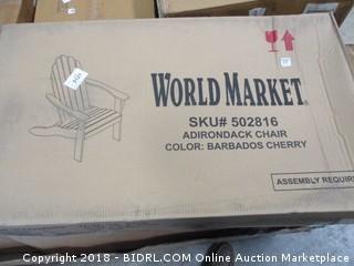 World Market Adirondack Chair