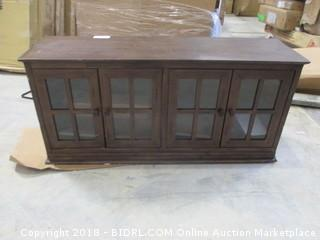 Cabinet with door and shelves
