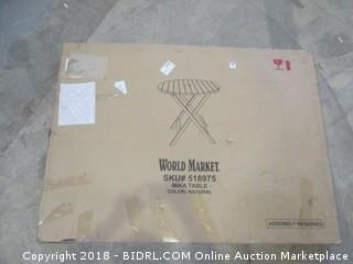 World Market Mika table