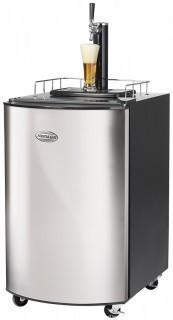 Nostalgia KRS2150 5.1 Cubic-Foot Full Size Kegorater Stainless Steel Draft Beer Dispenser (Retail $555.00)