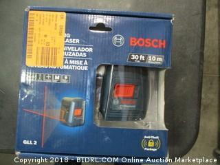 Bosch Cross Line Laser