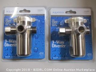 Aqua Vista 3 Way Diverter