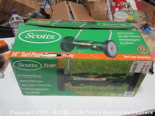 "Scoots 14"" Push Reel Mower"