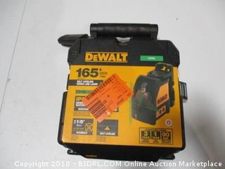 Dewalt Self Leveling Cross Line Laser