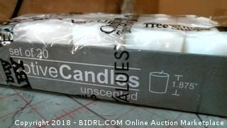 Votive Candles Unscented