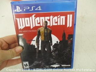 PS4 Wolfenstein II Game