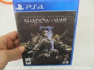 Shadow of War for PS4
