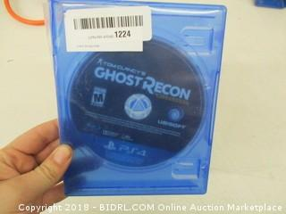Ghost Recon for PS4
