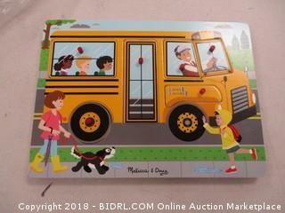 Melissa and Doug Bus Puzzle