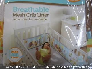 Mesh Crib Liner