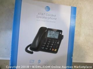 AT&T Corded Speakerphone