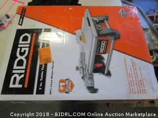 Rigid Table Top Wet Saw