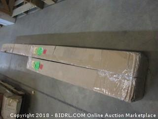 The Beam Store Sectional Tan Balance Beam (12-Feet) Made in USA (Retail $244.00) PHOTO