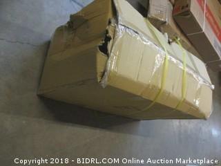 """Champion Sports High Impact All-Terrain Heavy-Duty Cart, White, 53"""" x 19"""" x 59"""", White (Retail $309.00)"""