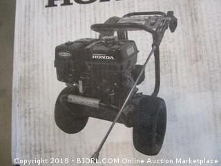 SIMPSON Cleaning PS4033 Powershot 4000 PSI Gas Pressure Washer Powered by Honda GX270 Engine (Retail $969.00)