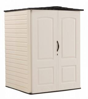 Rubbermaid Roughneck Plastic Medium Vertical Storage Shed,106-Cubic Feet (Retail $660.00)