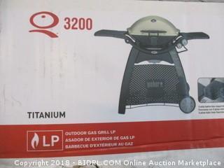 Weber 57060001 Q3200 Liquid Propane Grill (Retail $399.00)