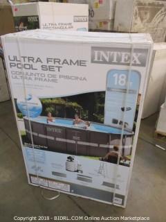 Intex Ultra Frame Pool Set 18 ft