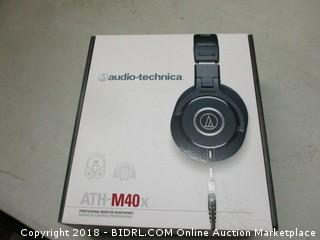 Professional ATH M40X Monitor Headphones